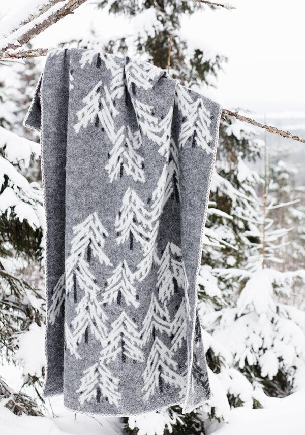 Lapuan Kankurit Kuusi Wool Blanket Finland