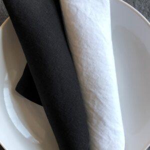 Libeco Skye linen napkins Belgium