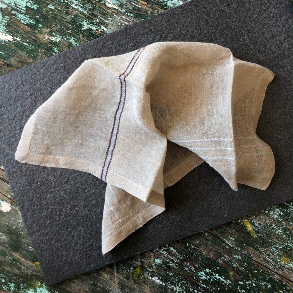 Libeco linen napkins Rya Belgian linen