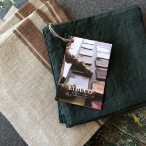 Libeco linen napkins Skye Belgian linen
