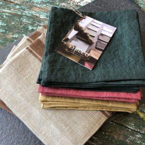 Libeco Skye linen napkins metaphore european home