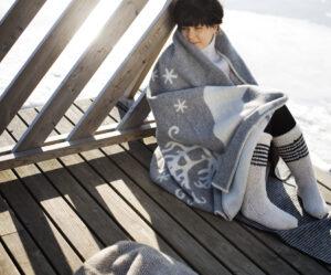 Lapuan Kanurit wool blankets Finland