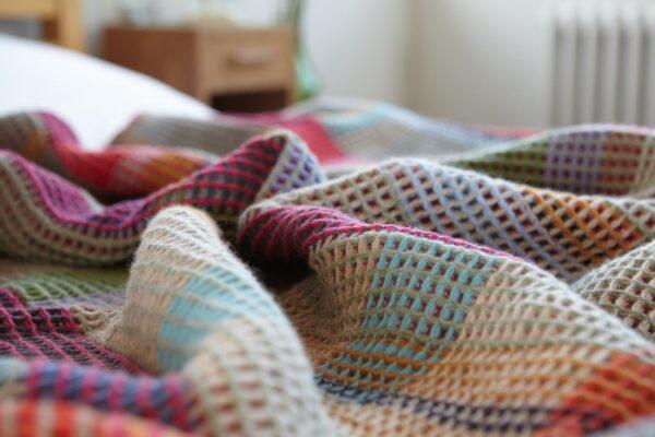 wallace sewell wool throw honeycomb merino wool dorothy