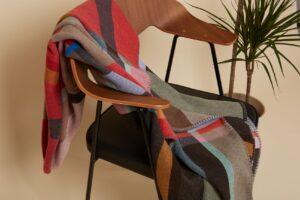 wallace sewell throw merino wool lasdun