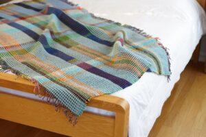 wallace sewell wilding throw merino wool