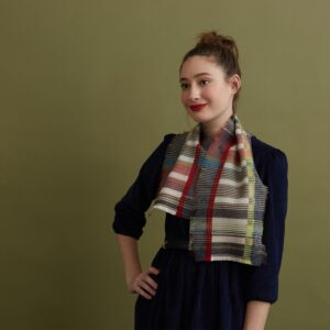 Wallace Sewell cashmere wool scarf
