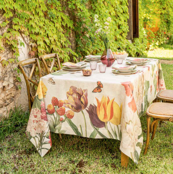 NapKing tablecloths linen Italy Sicily metaphore european home