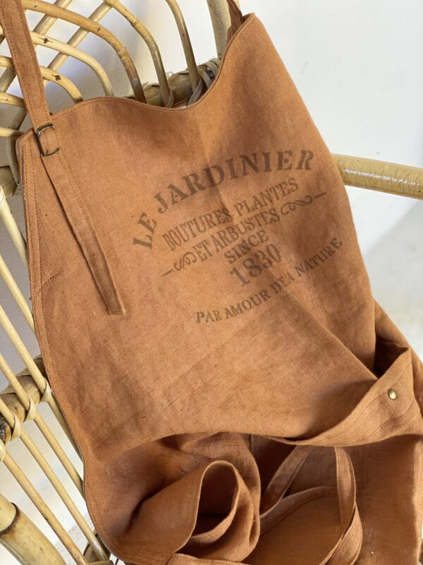 Atelier Costa linen aprons made in Spain
