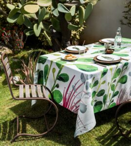 Table linens Sicily linen metaphore european home
