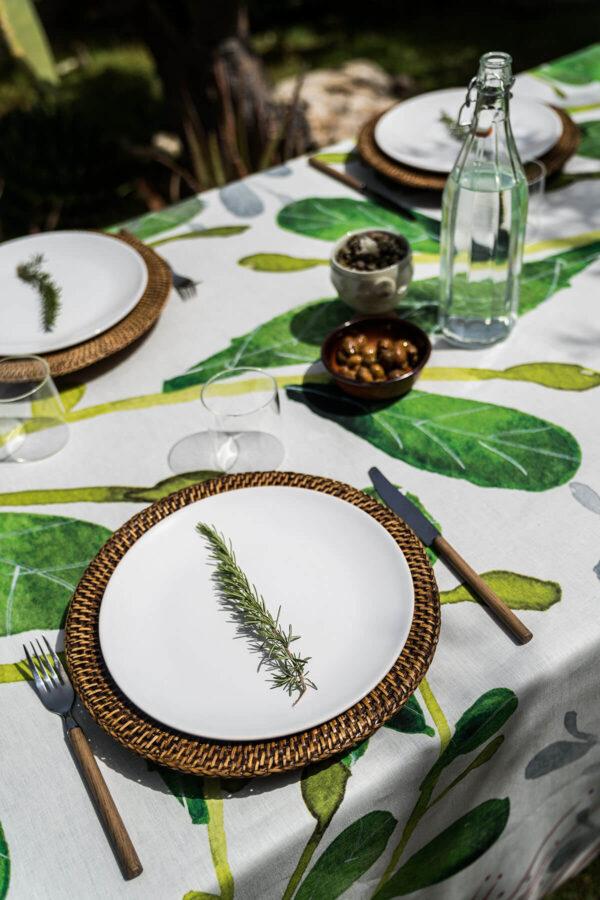 NapKing tablecloths Sicily metaphore european home
