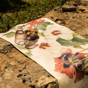NapKing linen table runner Sicily metaphore european home
