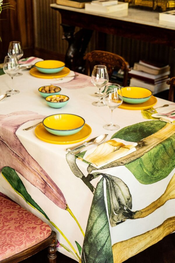Tablecloths Sicily NapKing metaphore european home