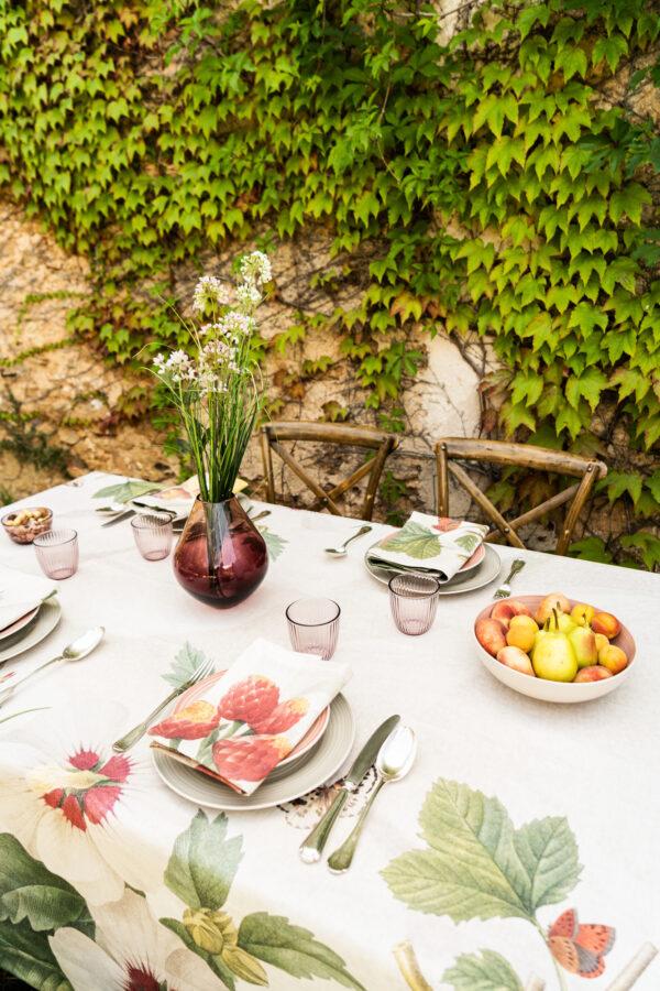Napking linen tablecloth Sicily Italy