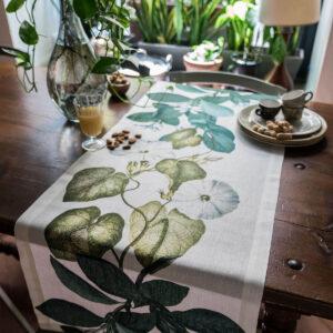 NapKing linen table runners Sicily metaphore european home