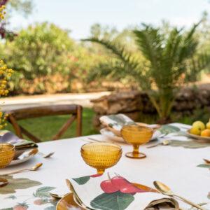 NapKing table linens Sicily Italy metaphore european home