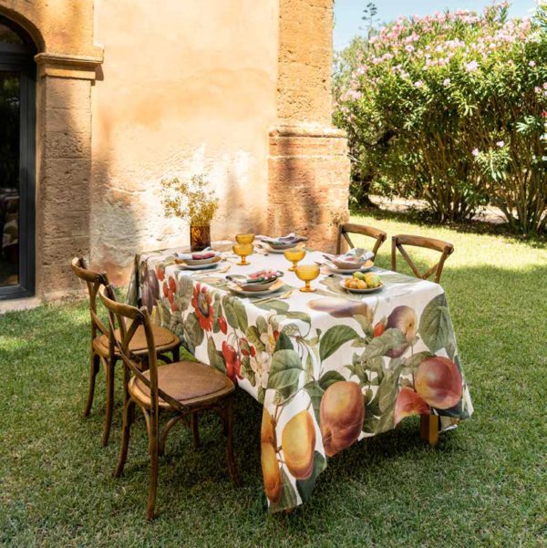 NapKing linen tablecloths Sicily metaphore european home