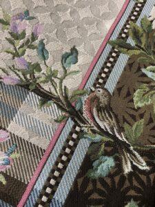 Miho rugs Italian birds flowers