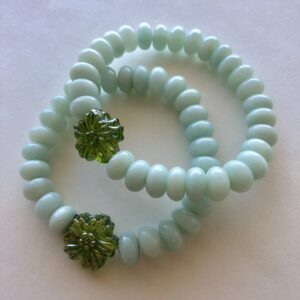 Peace Within amazonite bracelet metaphore european home