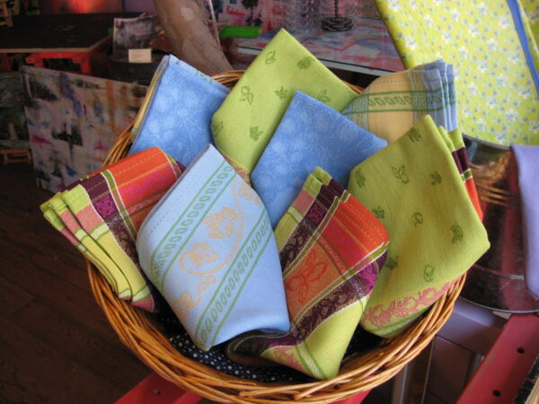 Le Cluny Provence napkins cotton French