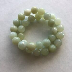 Green New Jade green stretch bracelet