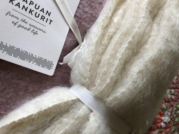 Lapuan Kankurit mohair throw ivory