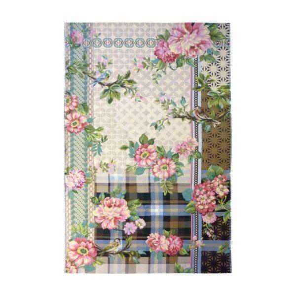 Miho Italian rugs flowers birds