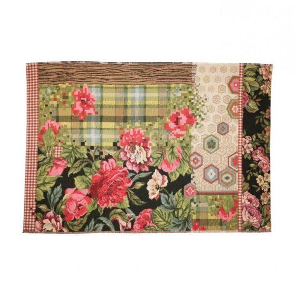 Miho flowered rugs Italian