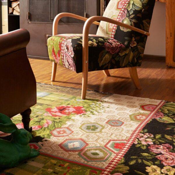 Miho Italian rugs flowered