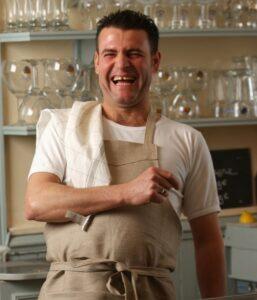 Libeco linen aprons Belgian linen