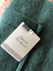 Lapuan Kankurit Spruce Green Pocket Shawl Finland