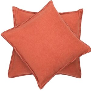 David Fussenegger pillow covers orange
