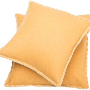 David Fussenegger pillow covers yellow