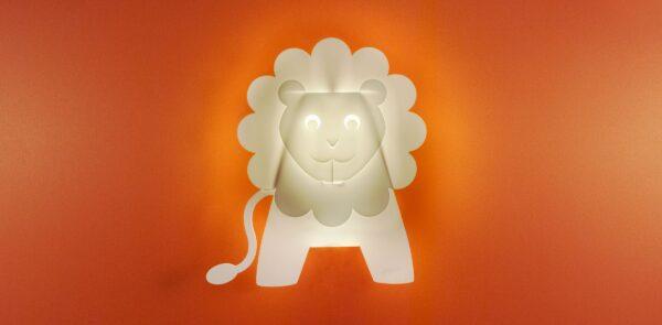 ZzzooLights Lion Wall Sconce Light