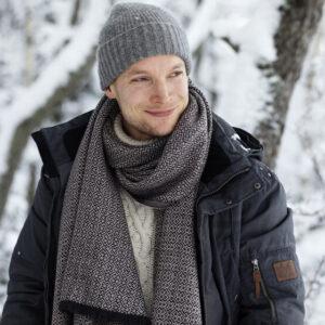 Lapuan Kankurit Koli merino wool scarf Finland