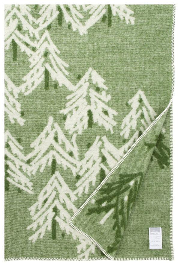 Lapuan Kankurit wool blanket green Finland