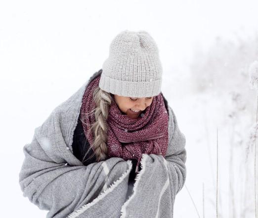 Lapuan Kankurit merino wool scarf Finland