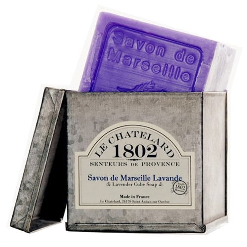 French lavender soap le chatelard marseille soap