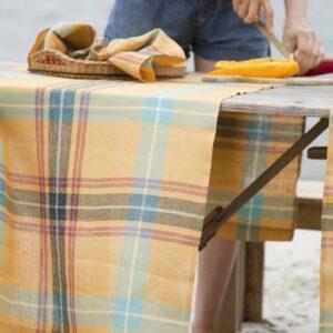 Libeco linen table runners
