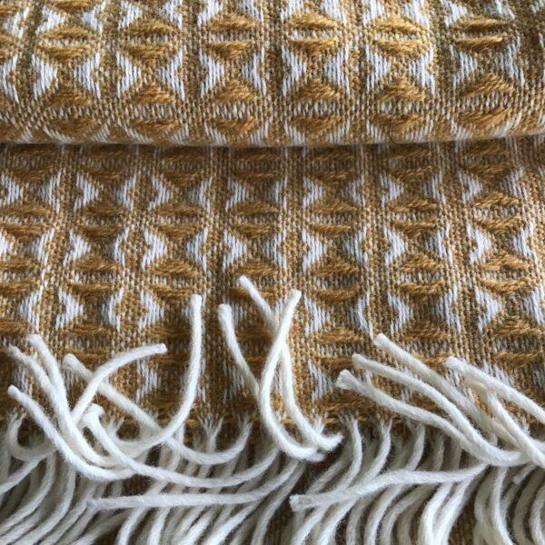 Tweedmille wool throws