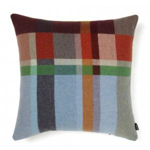 Wallace Sewell Merino Wool Pillow Cover Feilden Block Weave