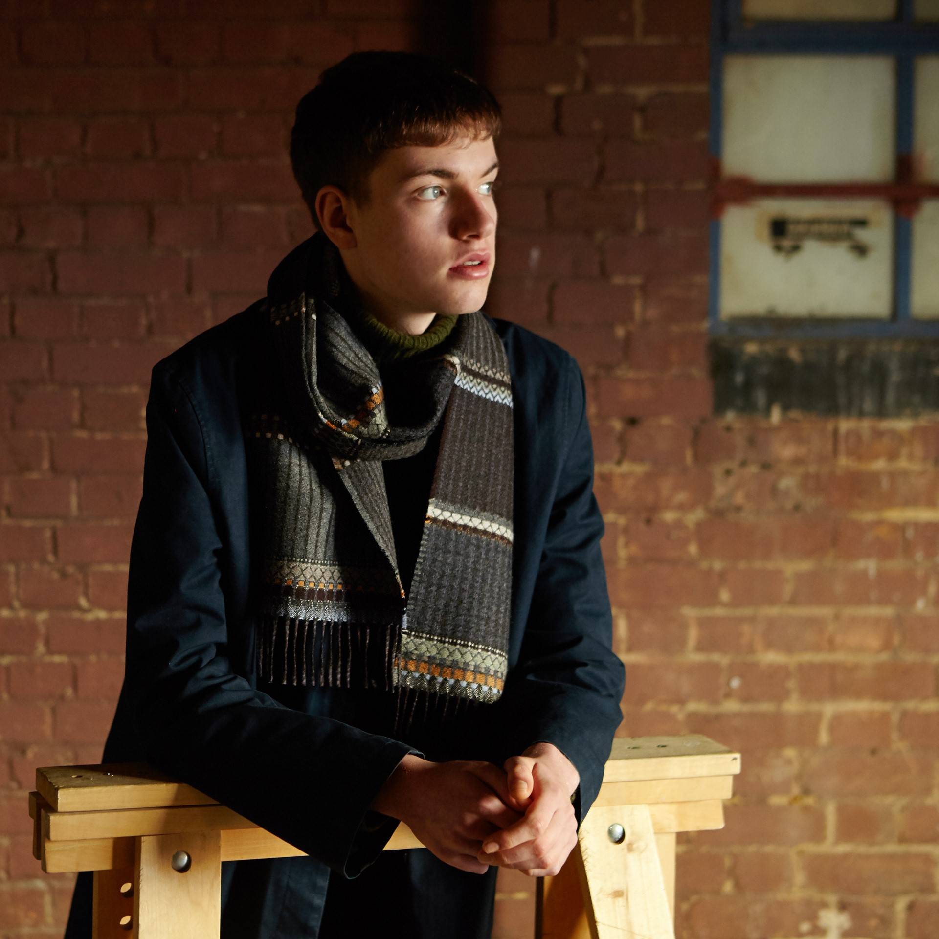 Wallace Sewell English Wool Men's Scarves