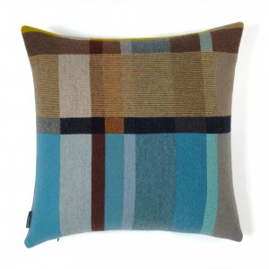 Wallace Sewell River Merino Wool Pillow Cover Made in England